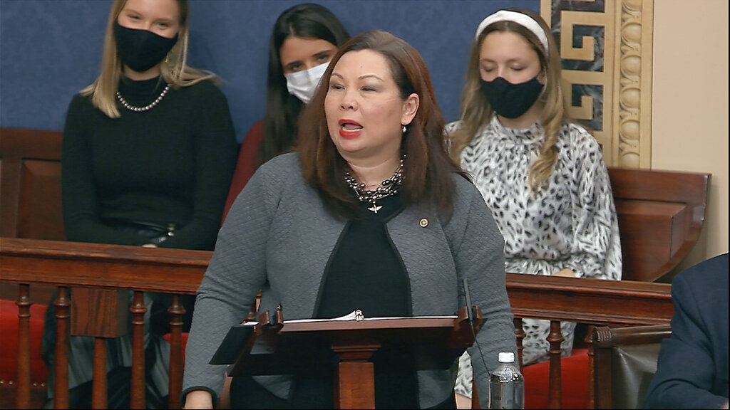 Sen. Tammy Duckworth demands probe of military members in Capitol riots