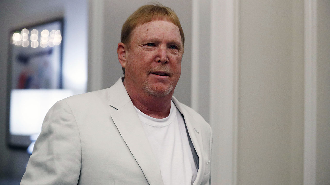 Raiders owner Mark Davis declines to comment on Jon Gruden: NFL has 'all the answers'