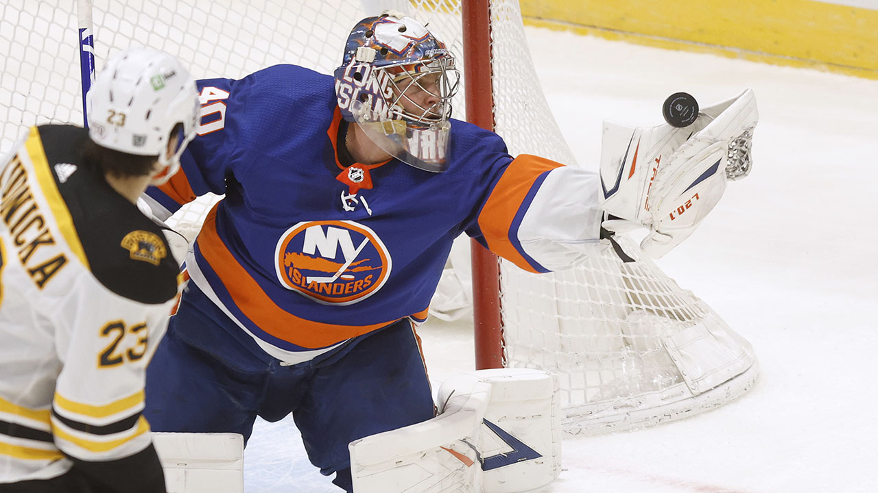 Varlamov, Pageau lead Islanders to 1-0 win over Bruins - fox