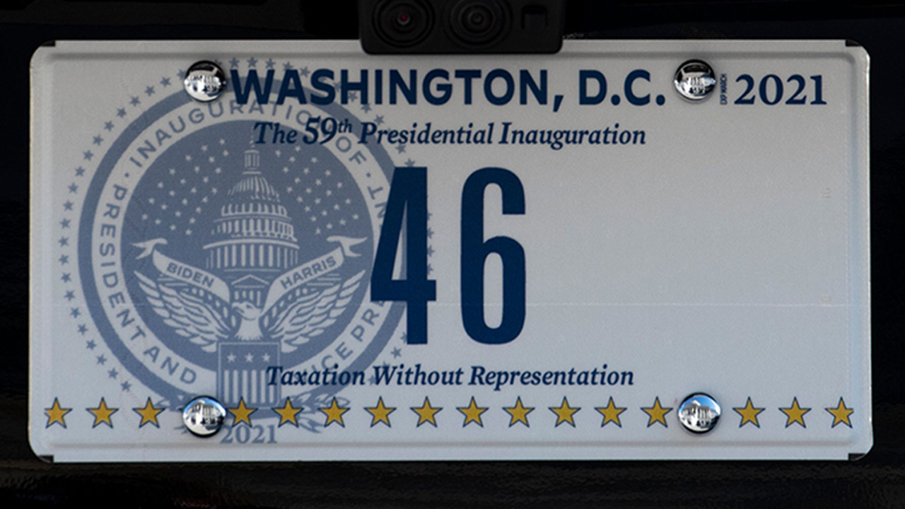 Bidens new presidential license plates make subtle call...