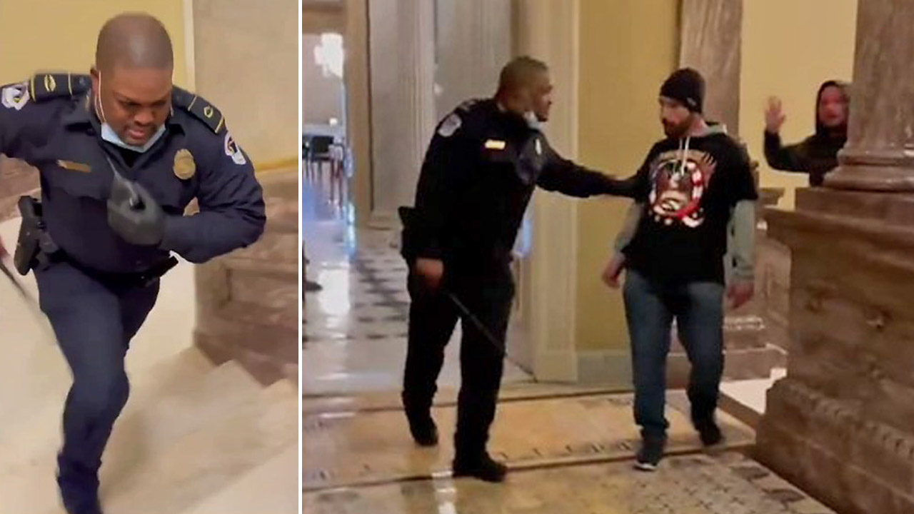 Capitol Police Officer Eugene Goodman should be awarded Congressional Gold Medal lawmakers say in resolution – Fox News