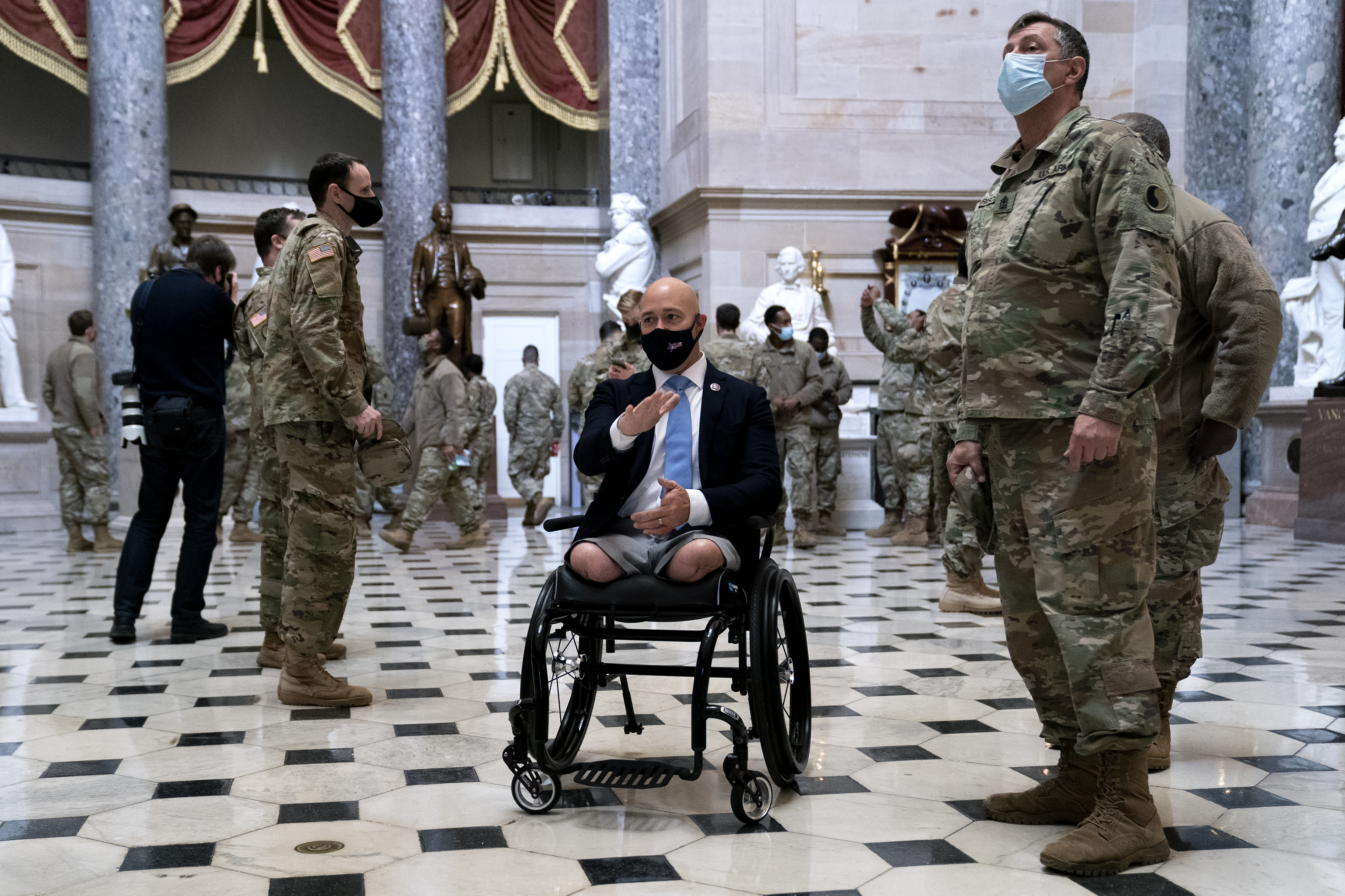 GOP Afghanistan vets honor military sacrifices, reflect on 9/11 two decades later