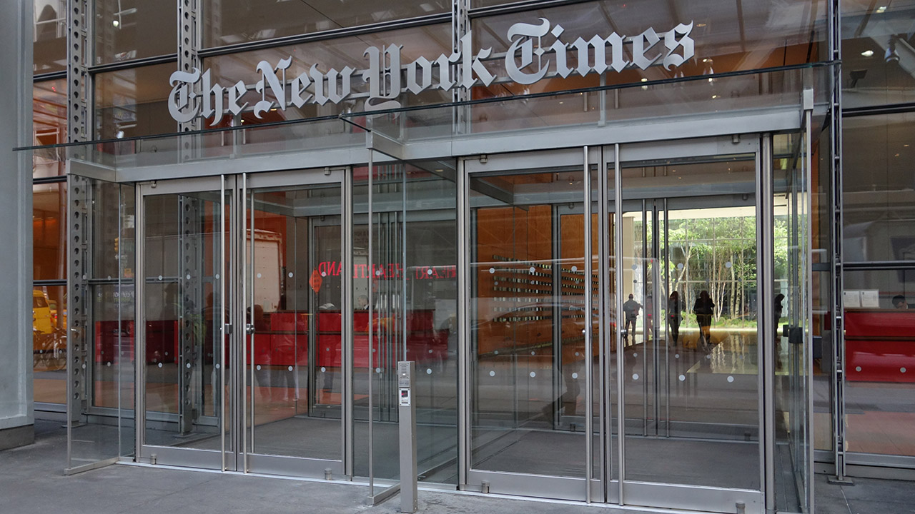 Fired New York Times editor says paper lying about reason for dismissal after pro-Biden tweet - fox