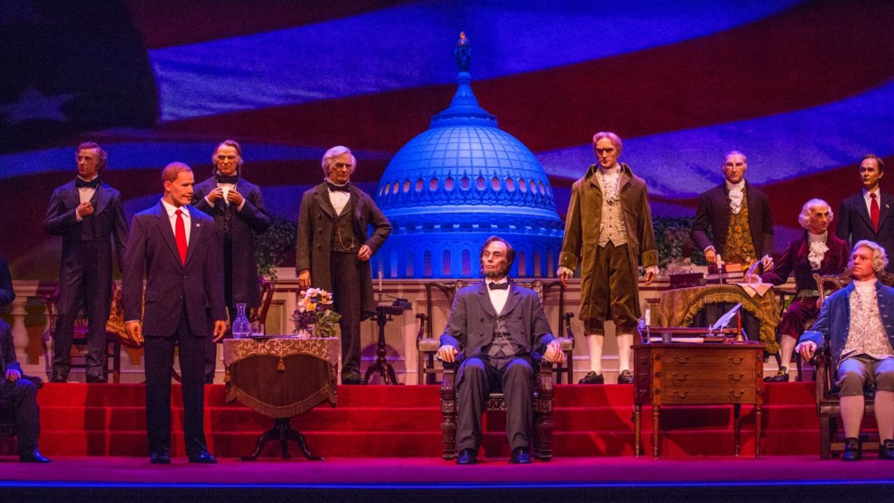 Disney World adding animatronic Joe Biden to Hall of Presidents in the Magic Kingdom -