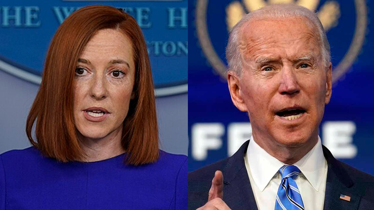 Biden distances from Psaki comments on schools being open 1 day a week: 'A mistake in the communication'