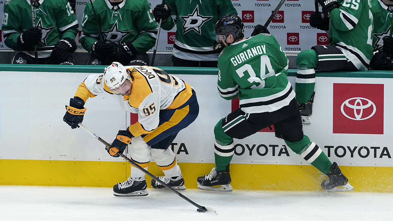 Radulov, Pavelski 2 goals as Stars beat Preds 7-0 in opener - fox