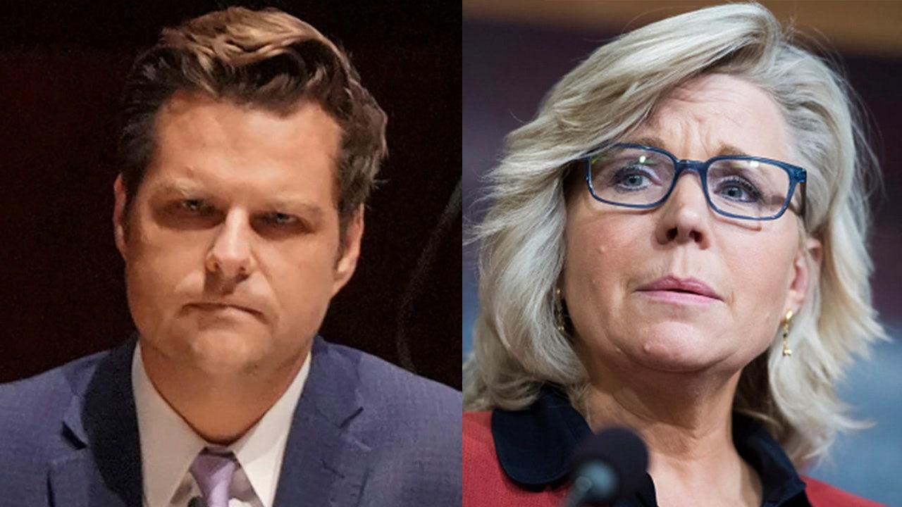 Cheney calls Gaetz allegations 'sickening,' stays mum on calls for resignation