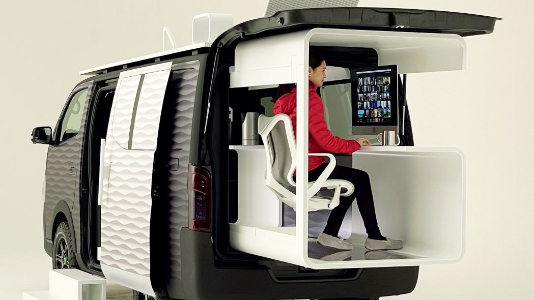 Nissan designs mobile office van for `work from...
