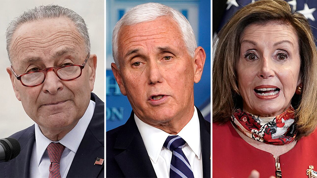 Chuck Schumer claims he and Pelosi were denied request to speak with Pence about 25th Amendment