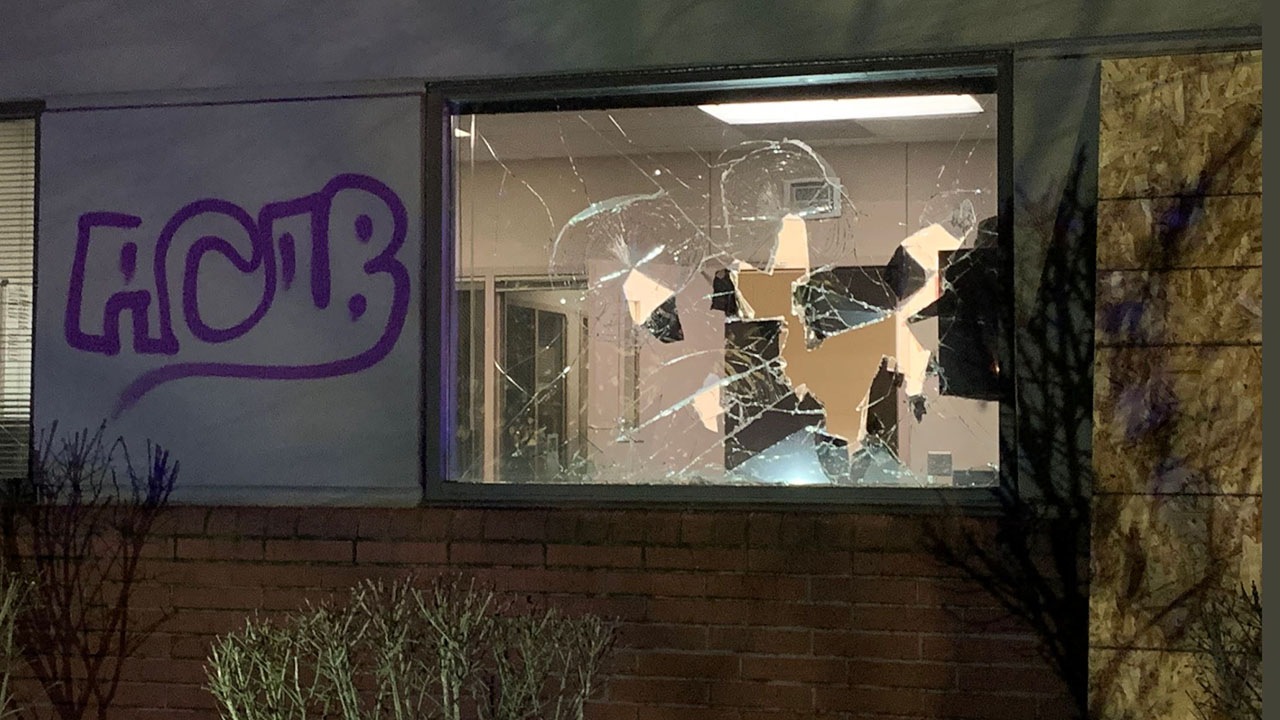 Portland suburb's police declare riot after protest following officer-involved shooting