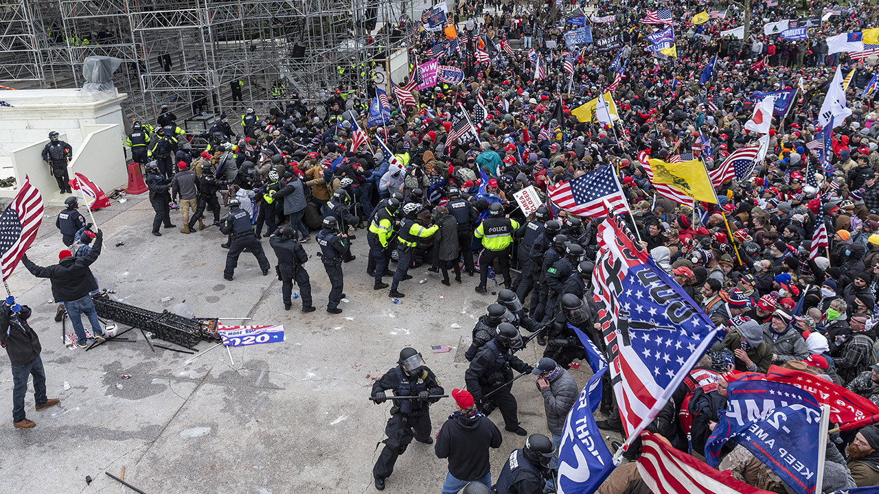 Justice Department considers not charging all Capitol rioters, amid concerns of flooding the courts