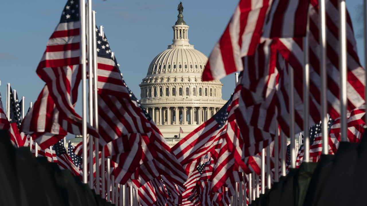 Nearly 192000 American state flags on display at National Mall ahead of Biden inauguration – Fox News