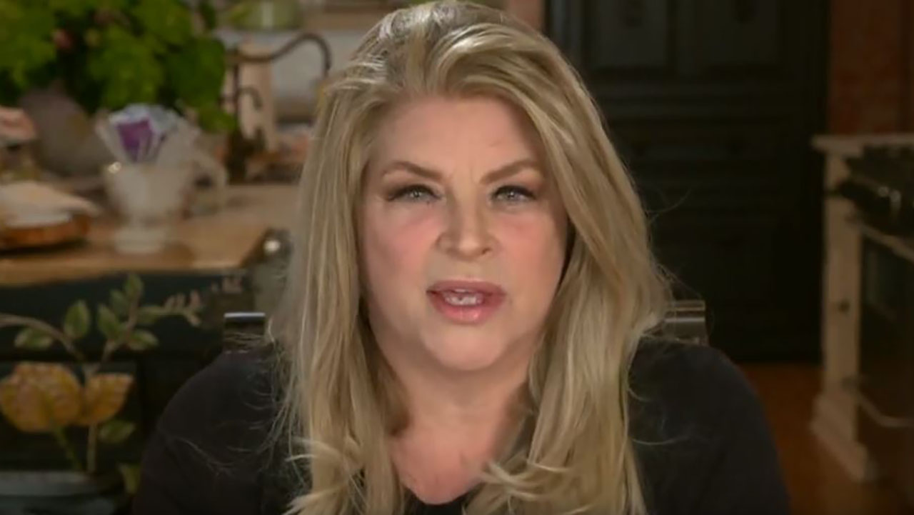 Kirstie Alley condemns Twitter for banning Trump in series of tweets