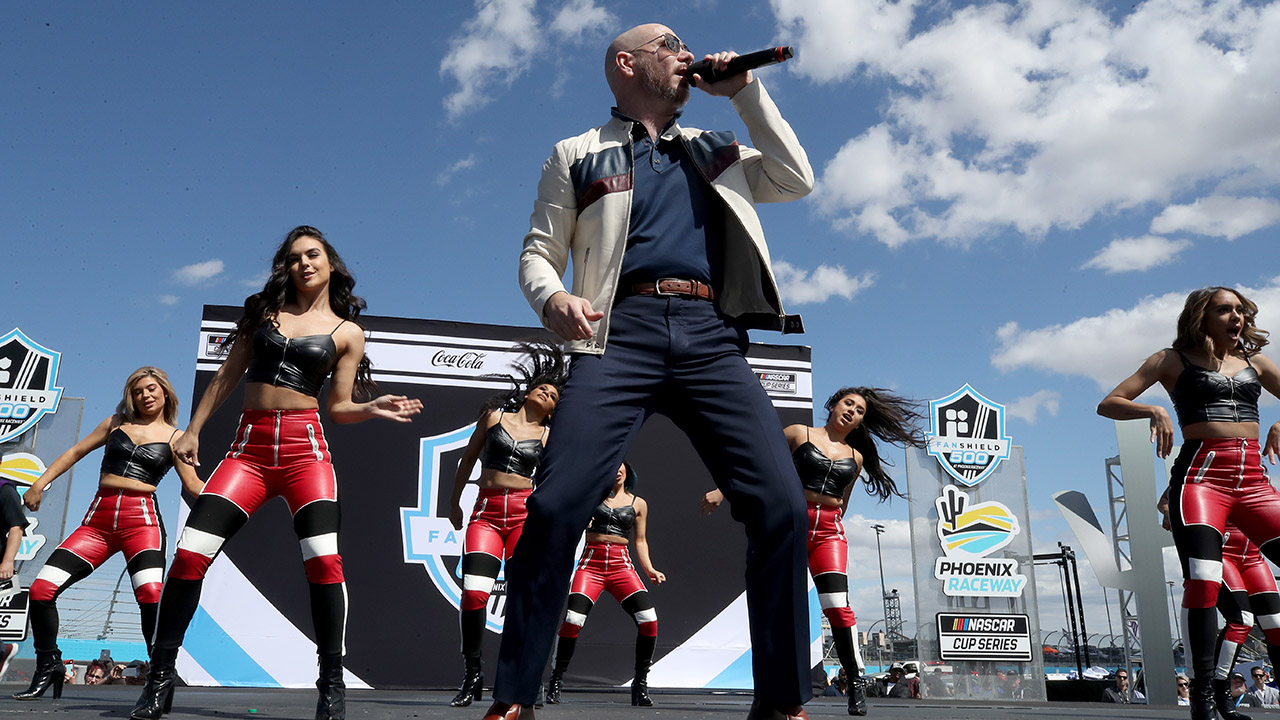 Image of article 'Pitbull becomes NASCAR team owner with Trackhouse Racing'