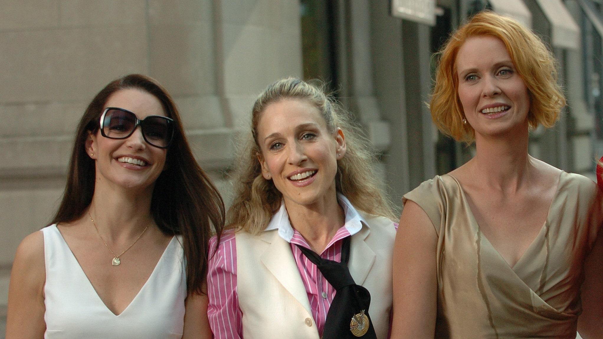 'Sex and the City' reboot first look: Sarah Jessica Parker, Cynthia Nixon, and Kristin Davis return