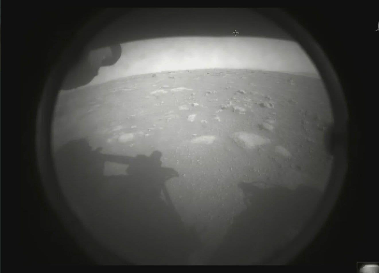 NASA's Perseverance rover lands on Mars
