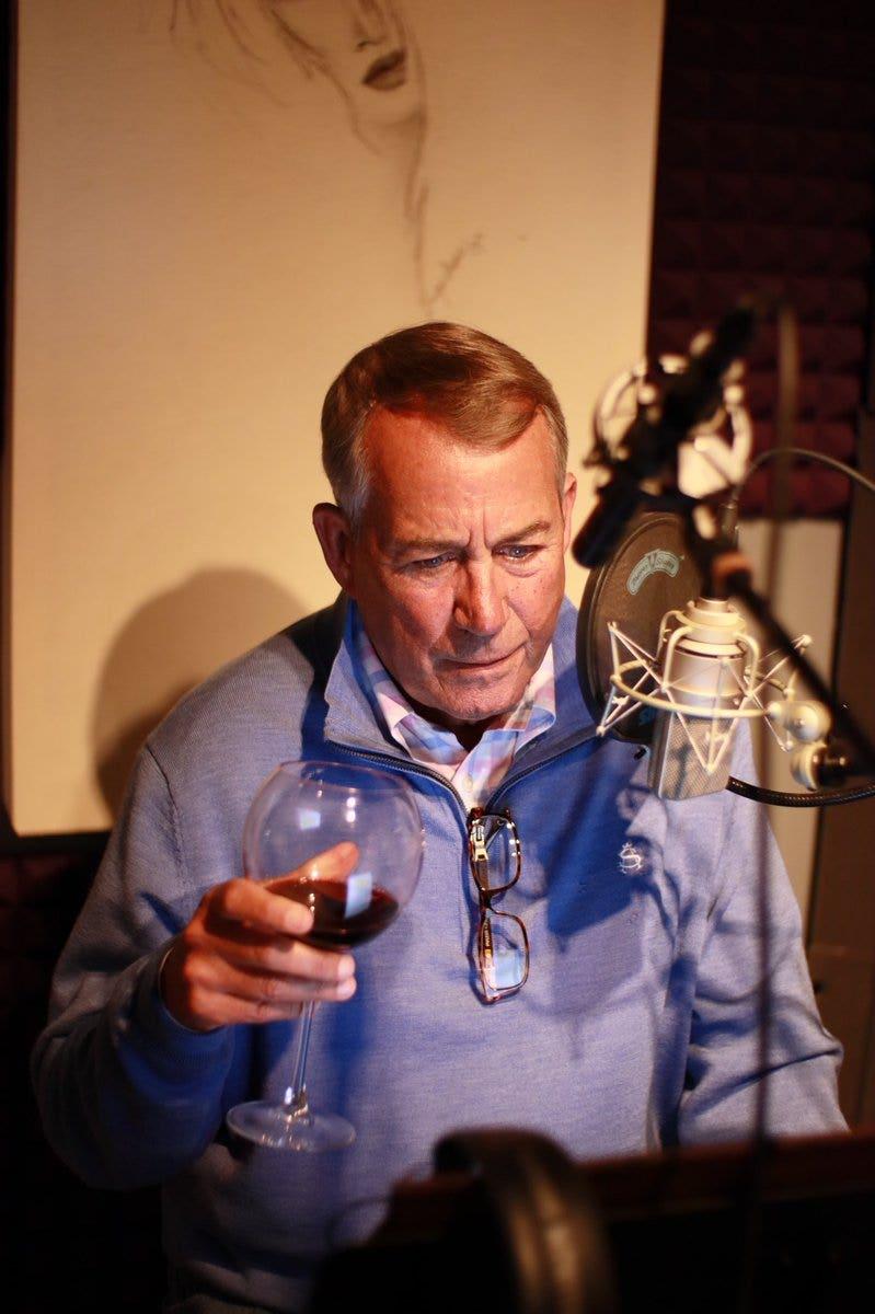Boehner tells Cruz to 'go f—- yourself' while recording audio book: report