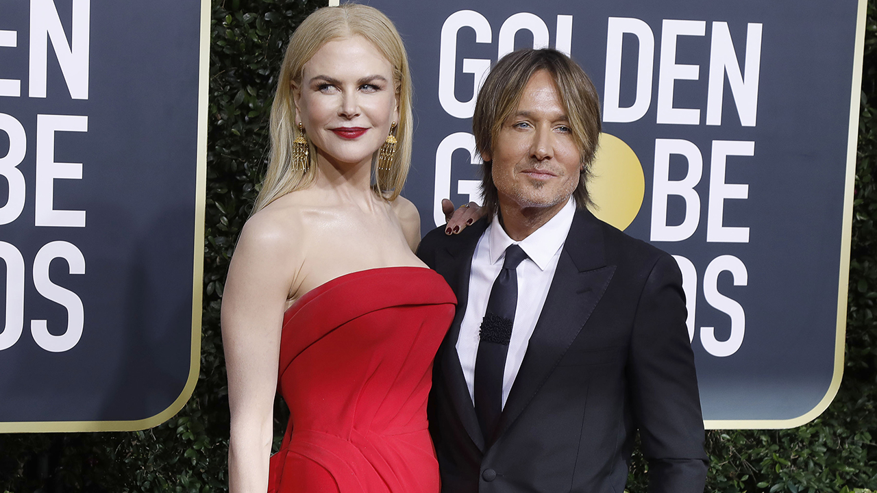Golden Globe nominee Nicole Kidman, Keith Urban's daughters make rare appearance at award show - Fox News