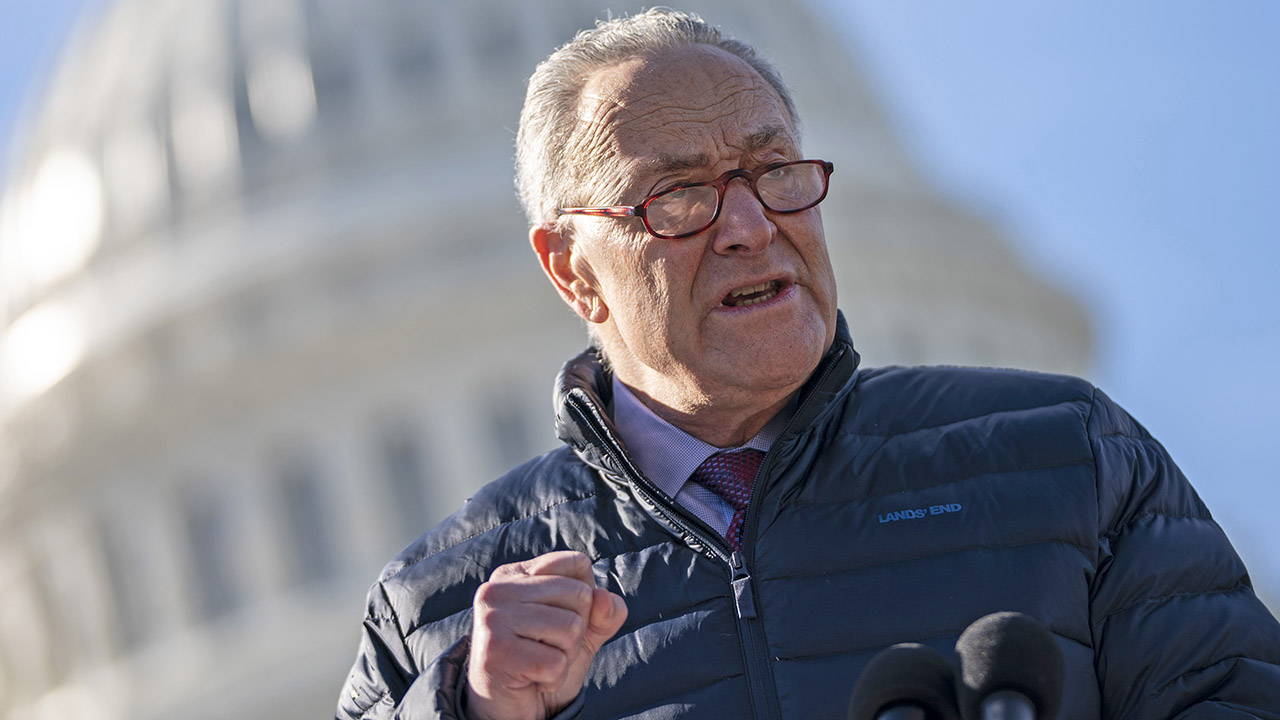 Schumer prepared to outlast GOP delays tactics to pass Biden's $1.9T coronavirus bill this week