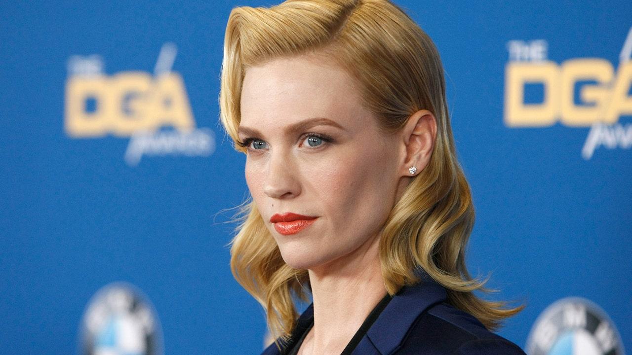 January Jones rewears stunning Golden Globes' gown 10 years later: 'Still, (sorta), fits' - Fox News