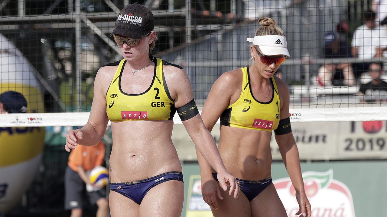 Julia Sude Pro beach volleyball players 8217 bikini furor sparks reversal ahead of Qatar tournament 8211 Fox News
