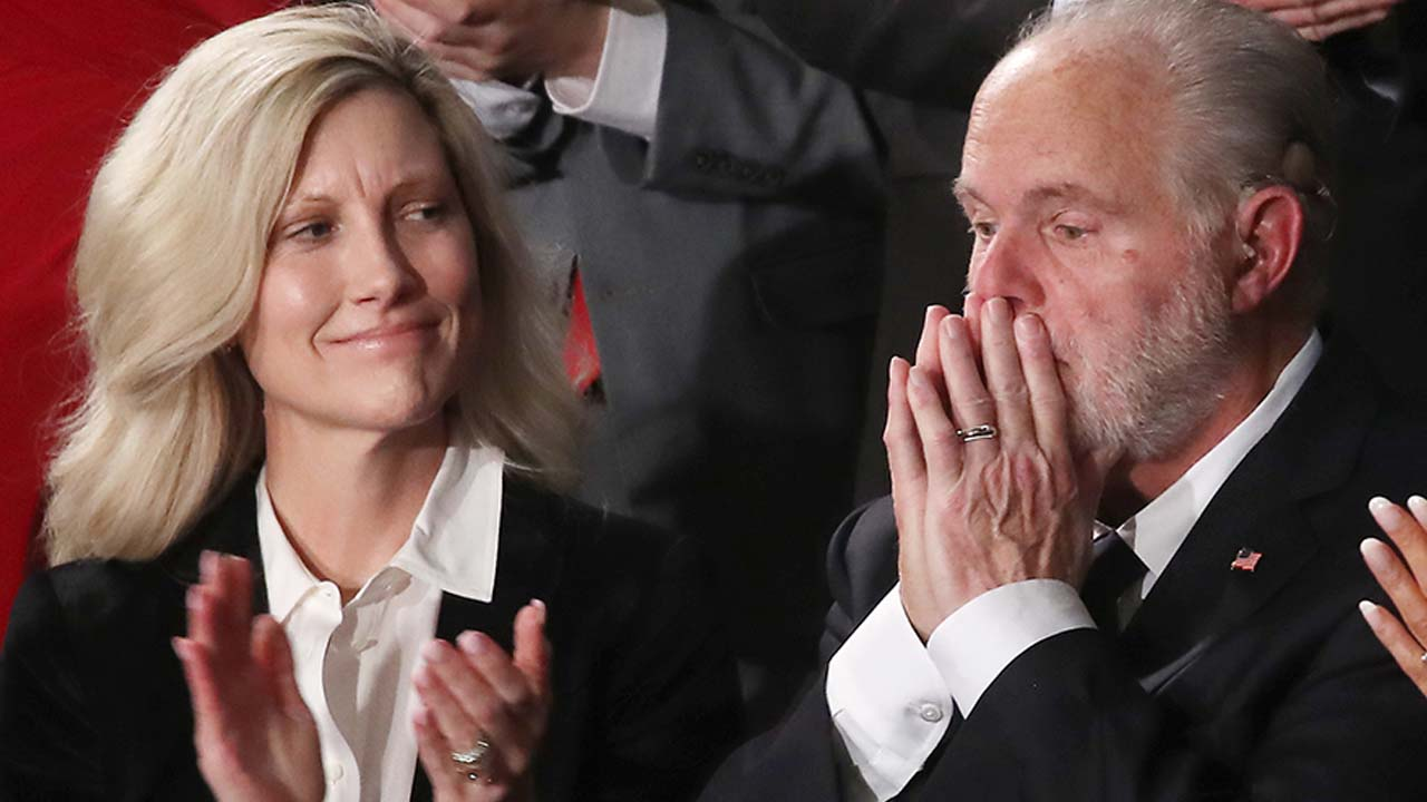 Kathryn Limbaugh gives update after late husband Rush Limbaugh laid to rest - Fox News