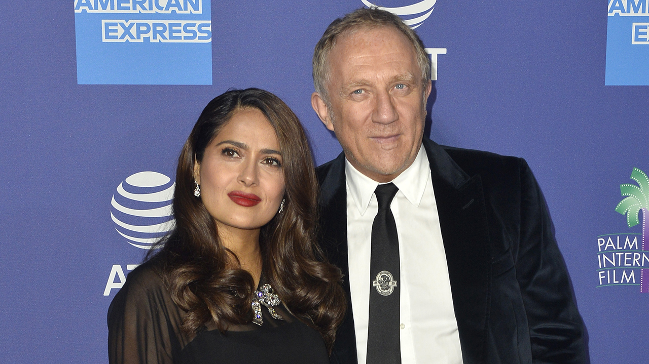Salma Hayek addresses claims she married her husband François-Henri Pinault for 'money': 'Think what you want' - Fox News