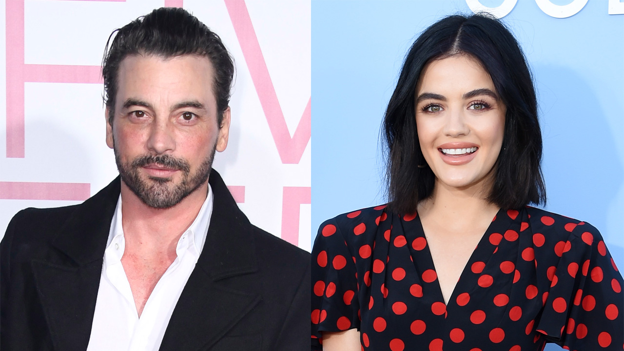 Lucy Hale, Skeet Ulrich spark romance rumors with PDA-filled outing - Fox News