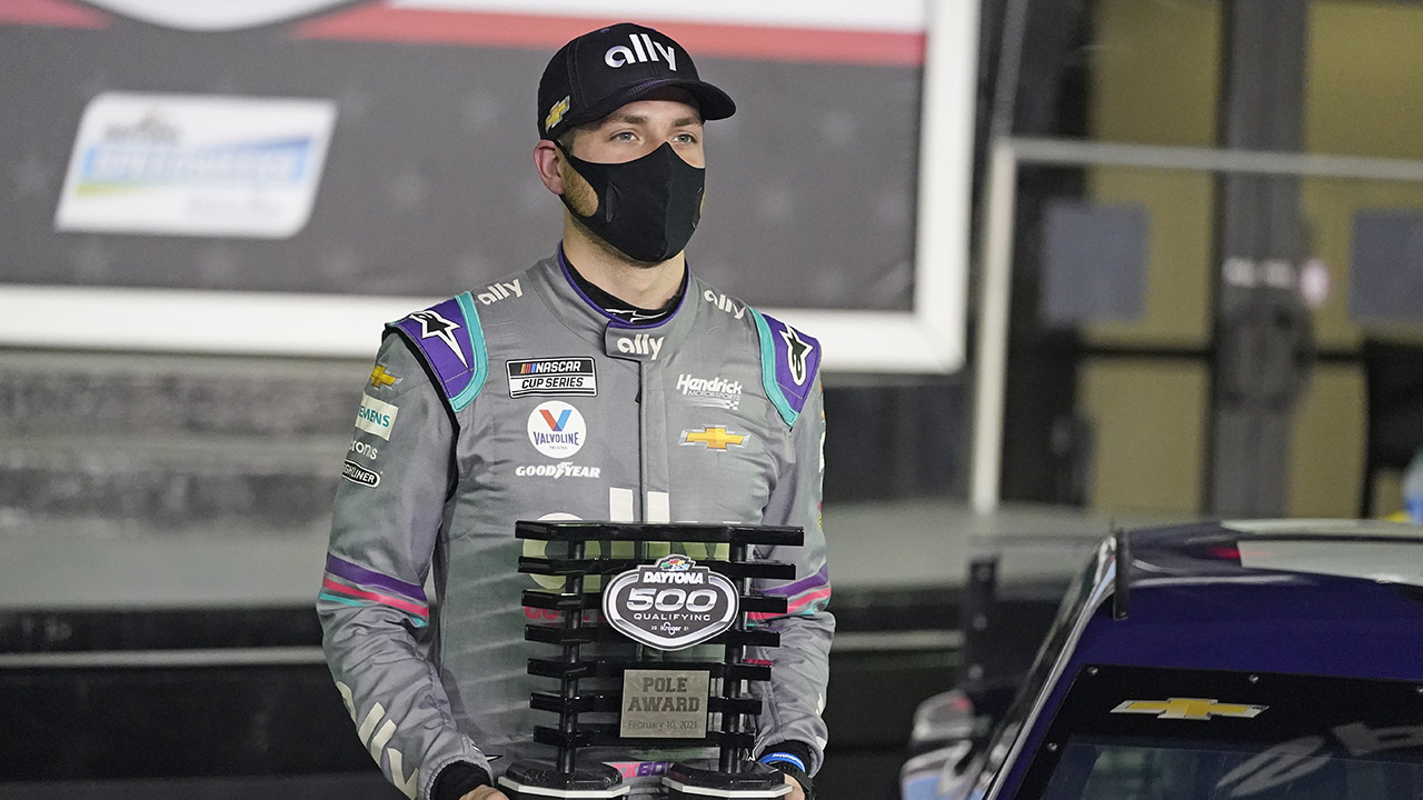 Teammates Bowman and Byron starting Daytona 500 on front row – Fox News