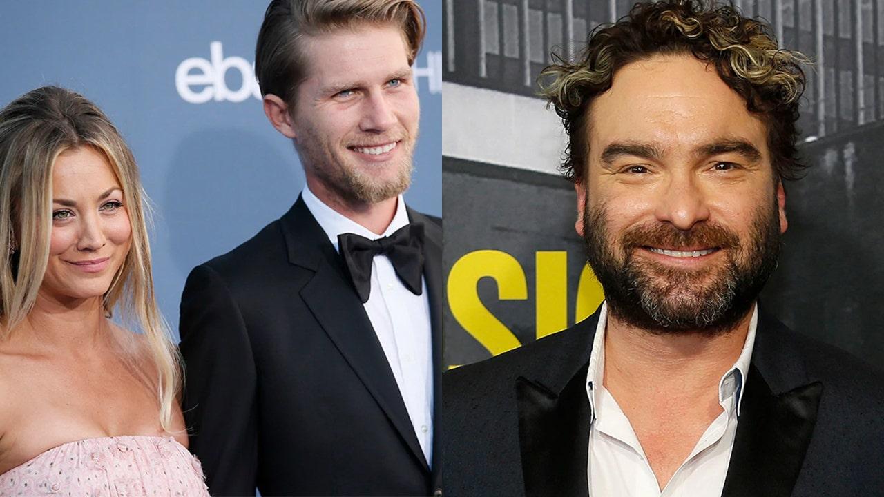 Kaley Cuoco calls life 'boring' before marriage to husband Karl Cook, ex Johnny Galecki responds - Fox News