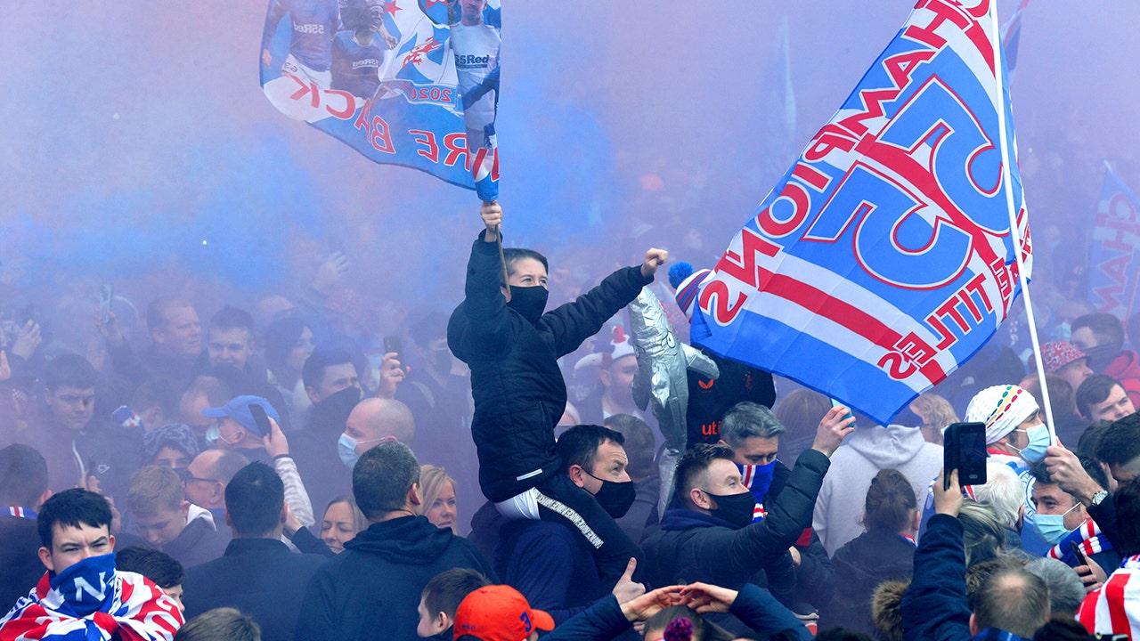 Rangers fans defy lockdown to celebrate 1st title in decade - Fox News