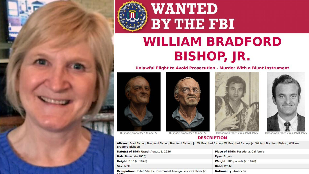 NC woman adopted as infant discovers biological father is on FBI's Most Wanted list after DNA test