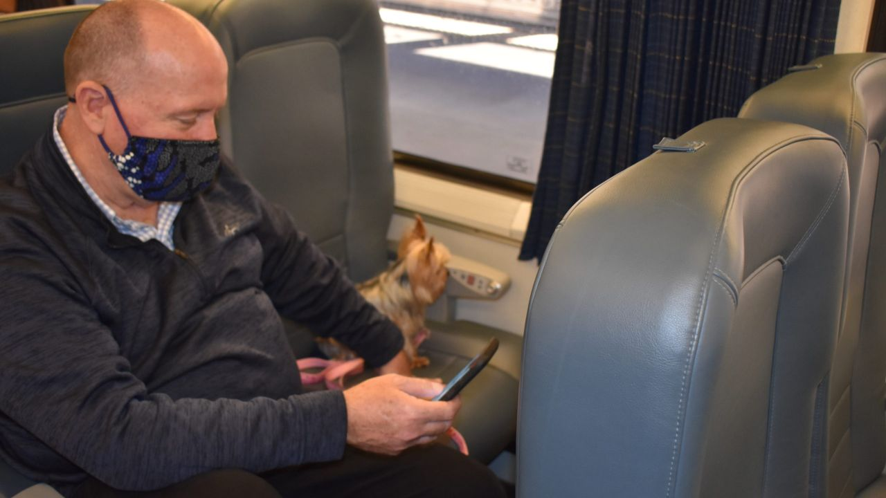 Every dog can have its day on Amtrak, as long as they're not too big.
