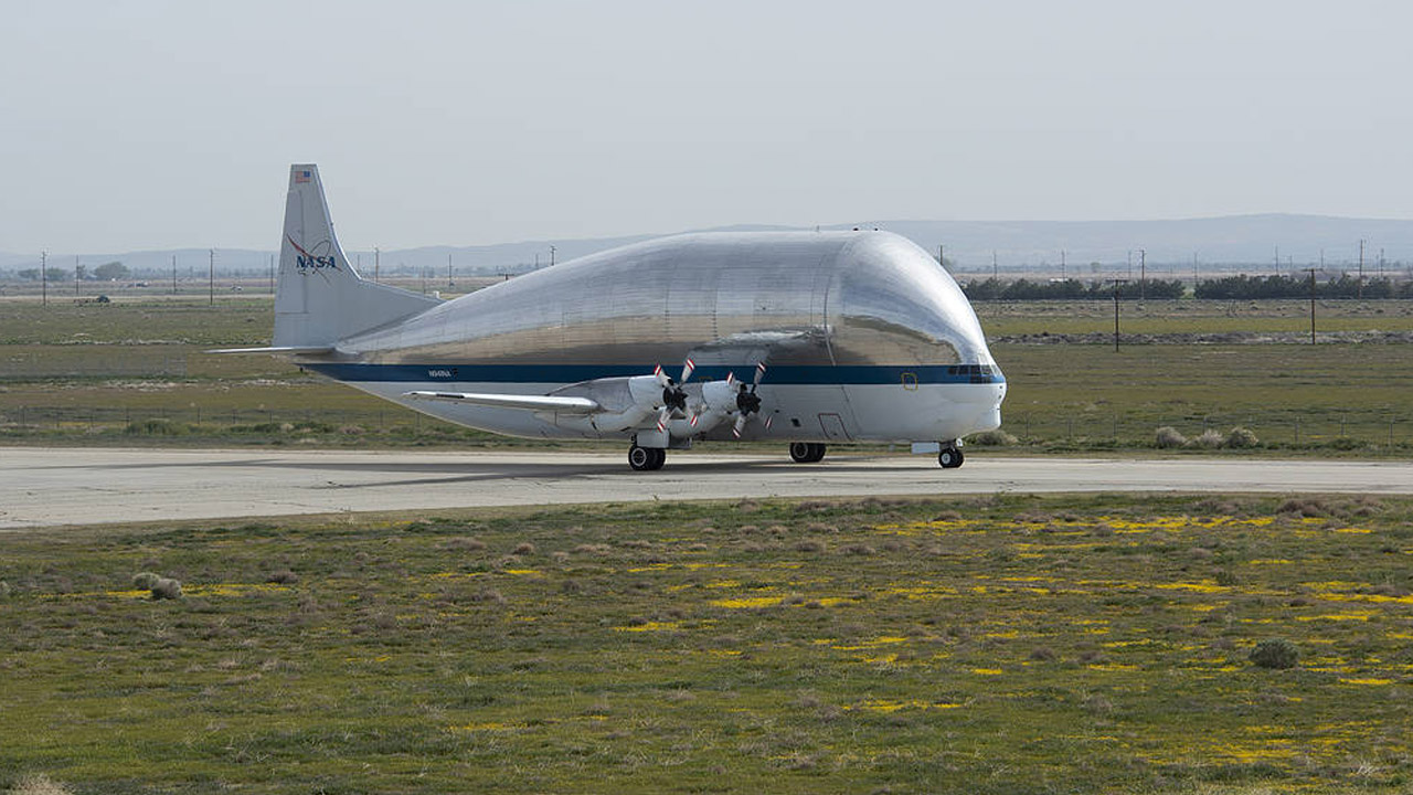 What is NASA's Super Guppy plane?