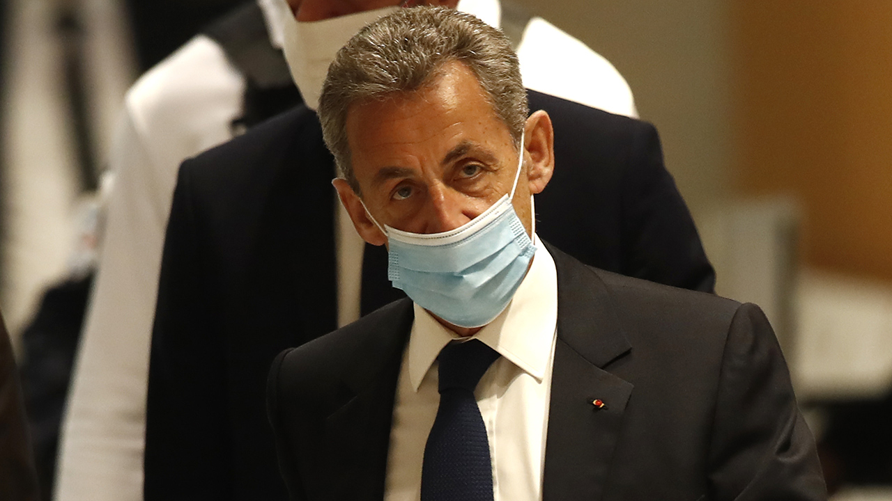 Sarkozy France Corruption Conviction AP