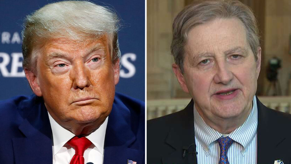 Trump endorses Louisiana Sen. John Kennedy in 2022 reelection bid