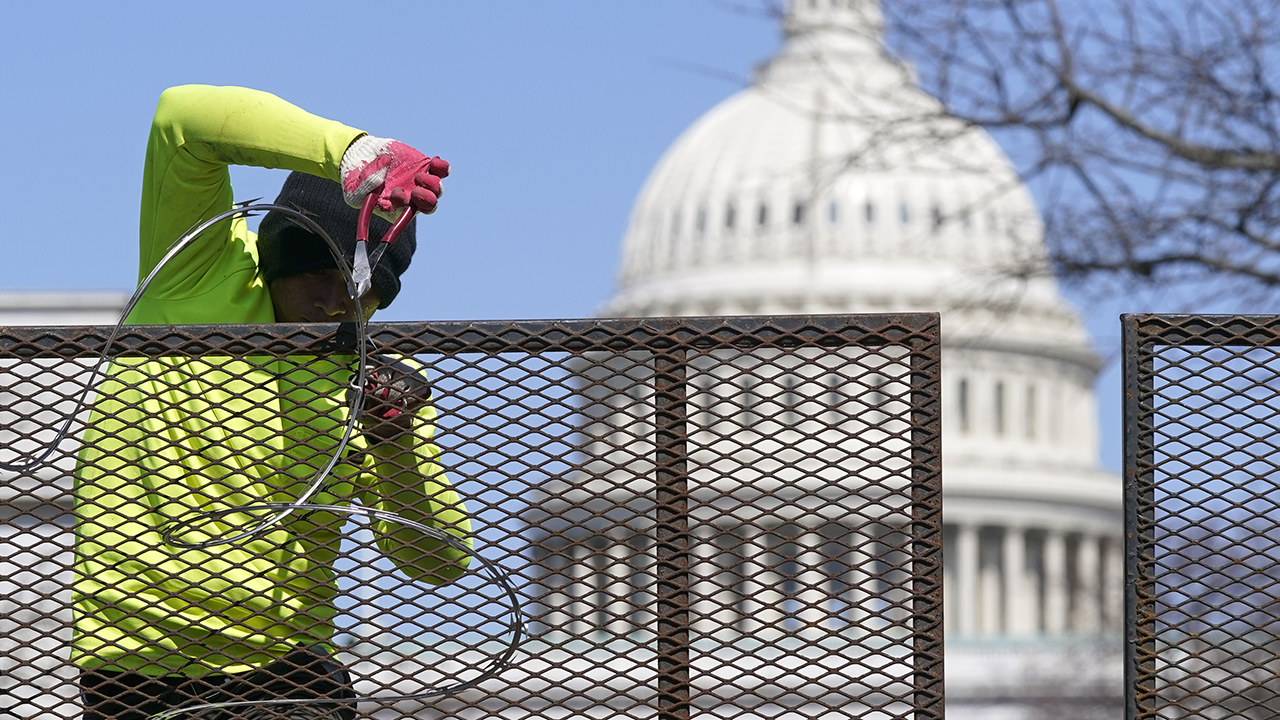 Fence surrounding US Capitol is expected to come down starting on July 8