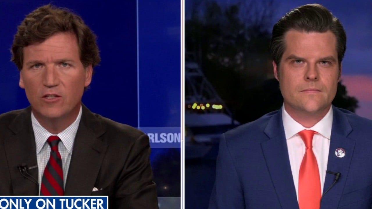 Rep. Matt Gaetz denies allegations of sexual misconduct in 'Tucker Carlson Tonight' exclusive