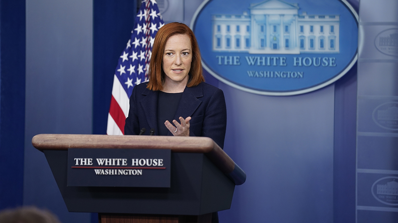 Psaki on moving MLB All-Star Game to Colorado: Georgia legislation was 'built on a lie' | Fox News thumbnail