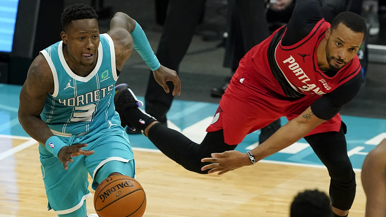Rozier, Hornets snap 4-game skid, beat Blazers 109-101