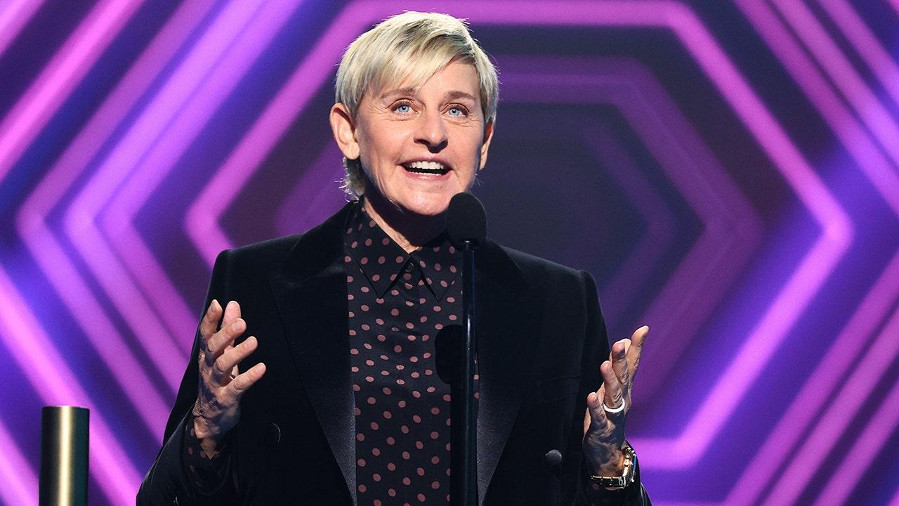 Ellen DeGeneres reveals she