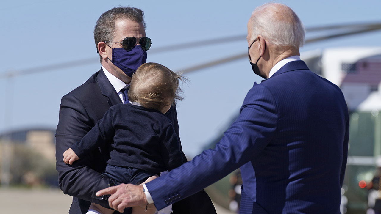 Hunter Biden convinced 'reluctant' Joe to publicly support his relationship with Beau's widow Hallie