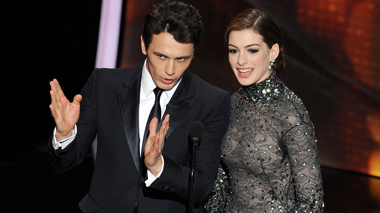 James Franco, Anne Hathaway's 2011 Oscars hosting gig was an 'uncomfortable blind date,' show writers say -