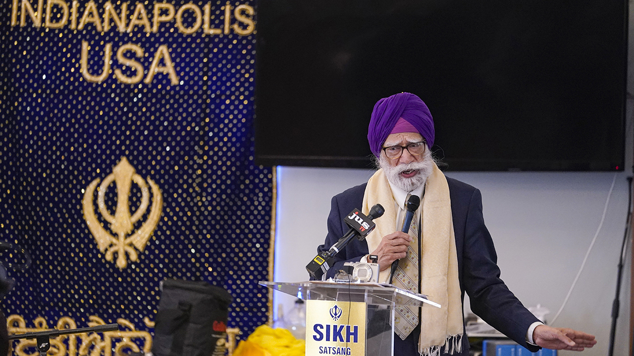 Indianapolis Sikh community calls for gun reforms after FedEx shooting