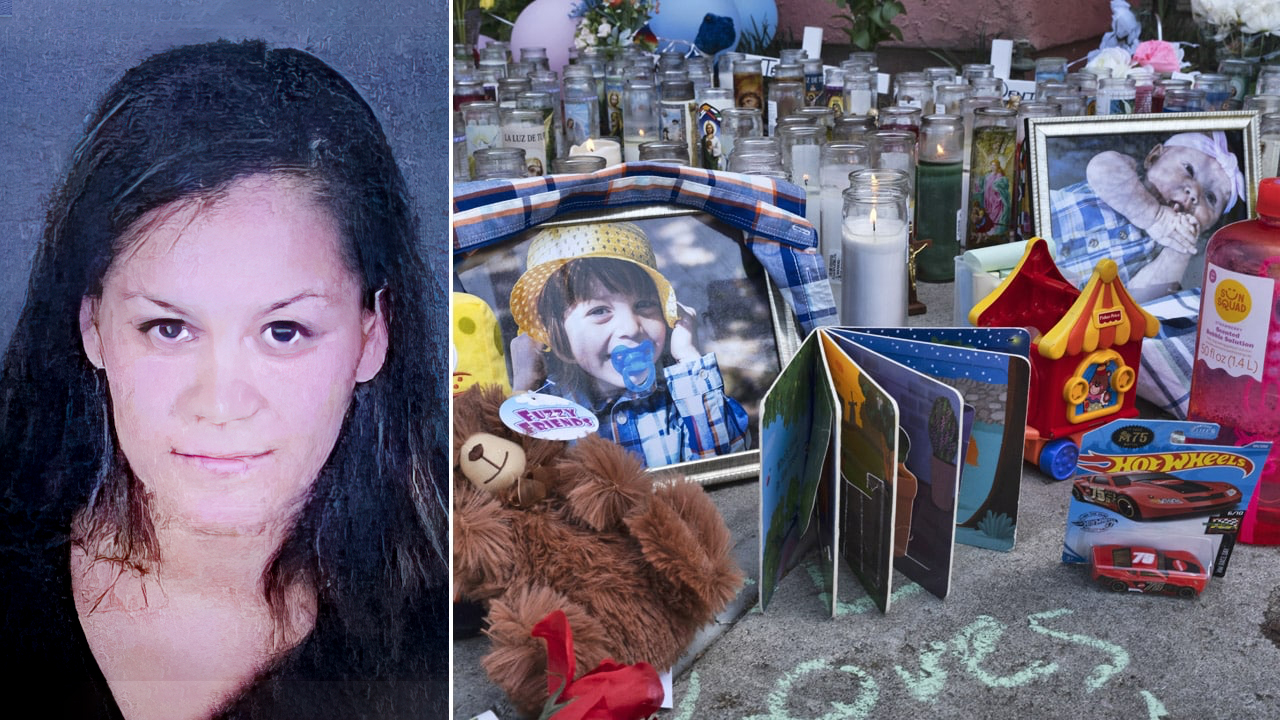 California woman charged with murders of her 3 young children