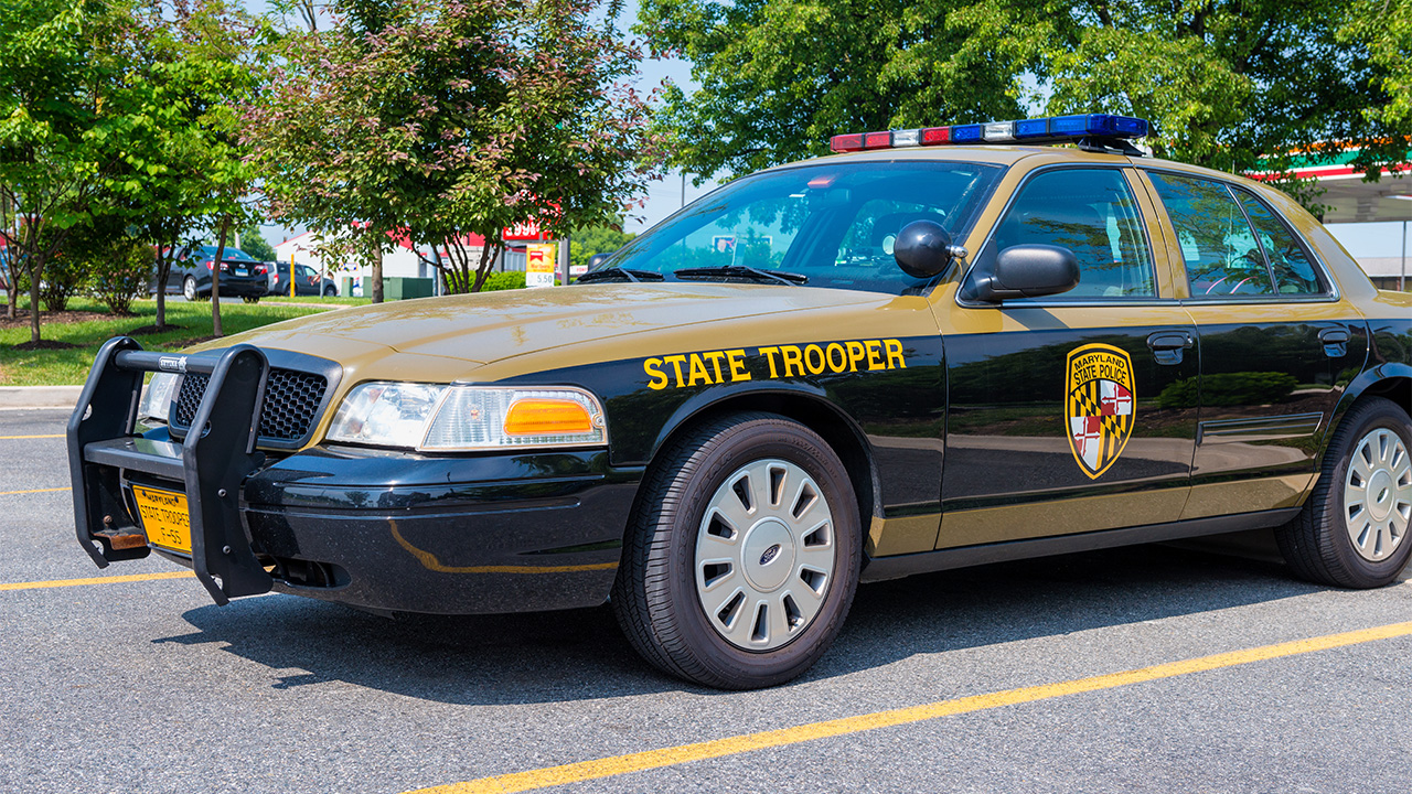 Maryland state trooper shoots armed man near police barracks