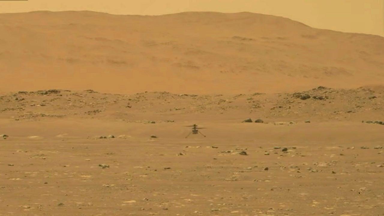 NASA Ingenuity Mars helicopter makes history