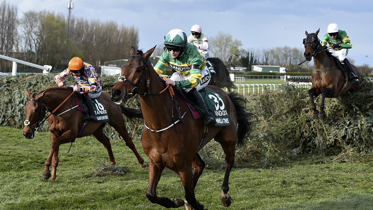 Blackmore becomes 1st female jockey to win Grand National