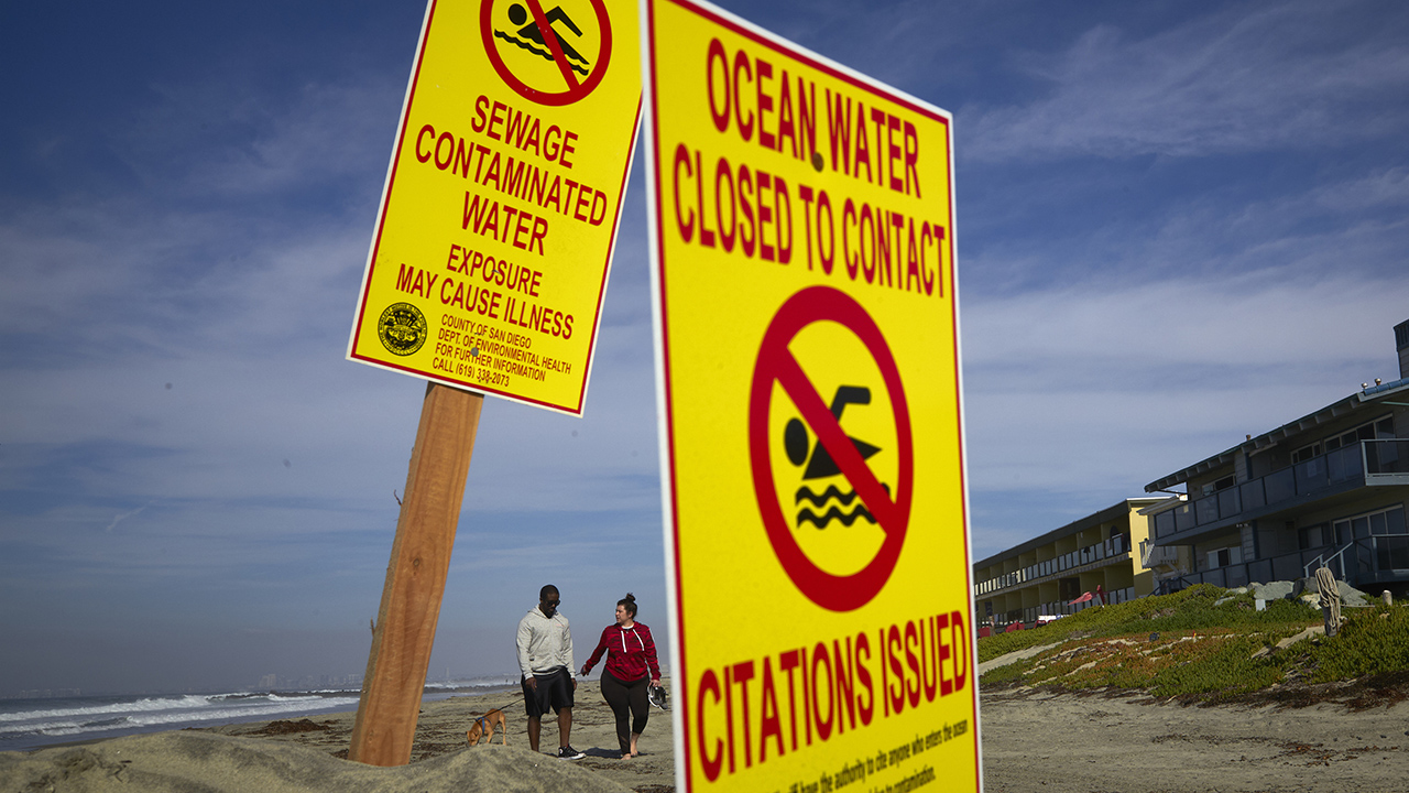 California beach closed after Mexico sewage blasts area for weeks: reports - fox