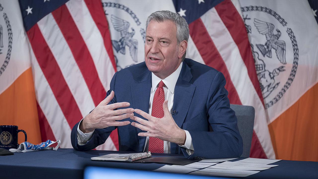 Eric Garner's mother slams de Blasio for handling of son's death: 'Dropped the ball on us'